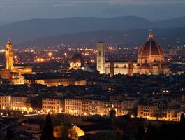 italia mil lugares viagem viagens pacotes firenze panorama notturno