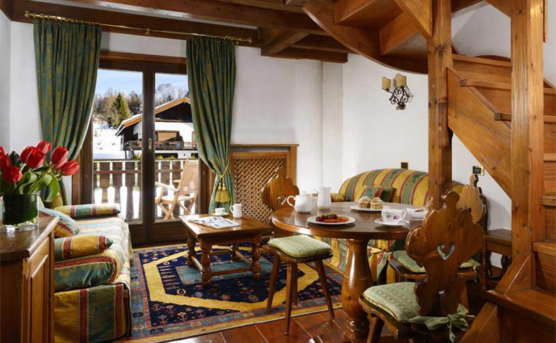Suite Deluxe do Park Hotel Faloria ****