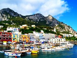 Ilha de Capri e Gruta Azul em 3 dias