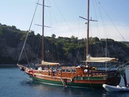 Nápoles e Costa de Amalfi em Gulet!!  - Tour de barco e bicicleta 8 Dias