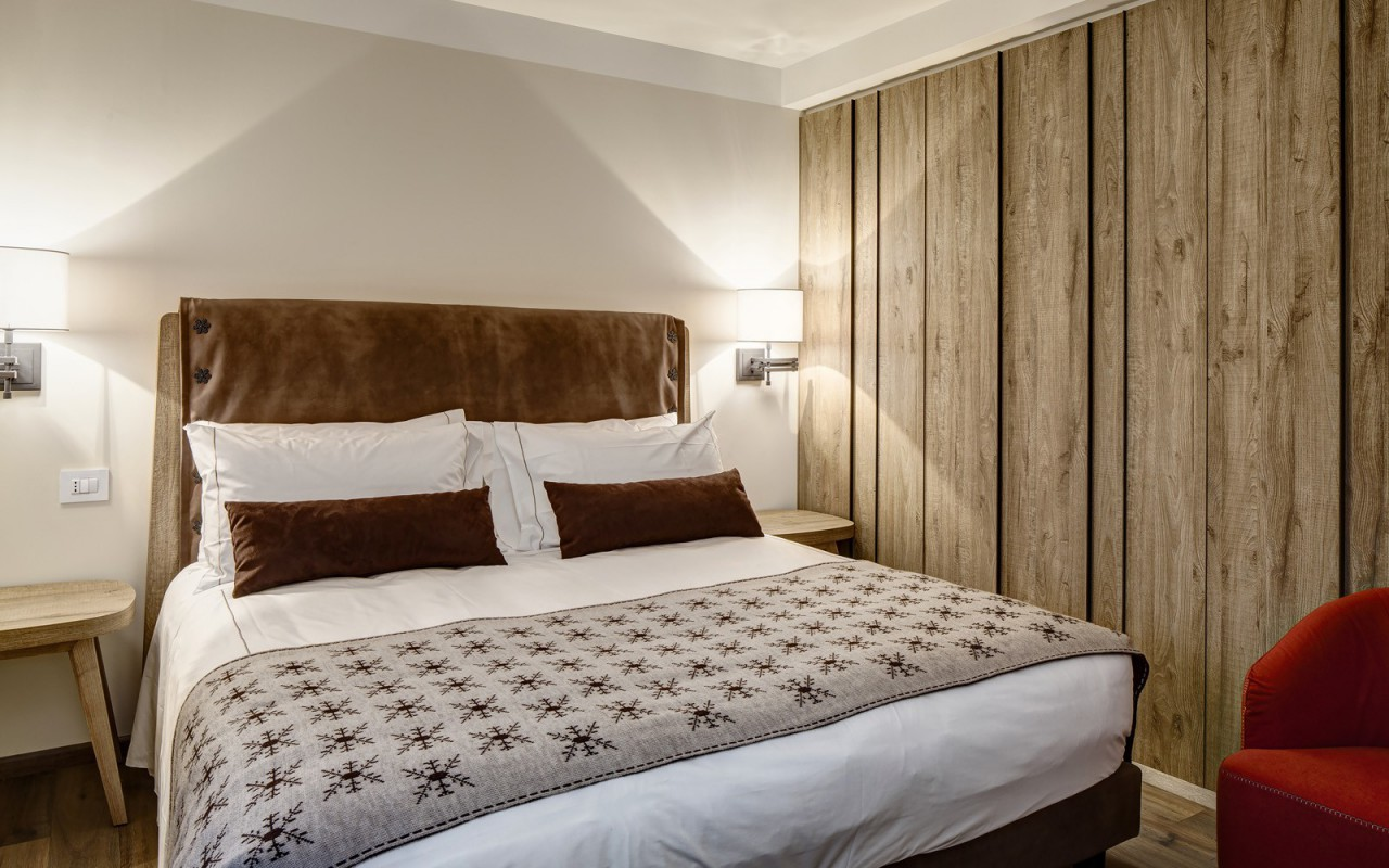 Quarto Comfort do Grand Hotel Courmayeur Mont Blanc *****