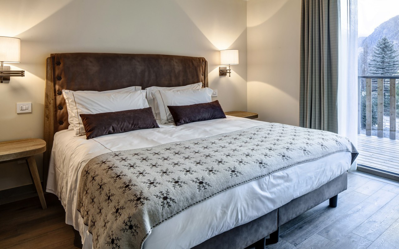 Junior Suite do Grand Hotel Courmayeur Mont Blanc *****