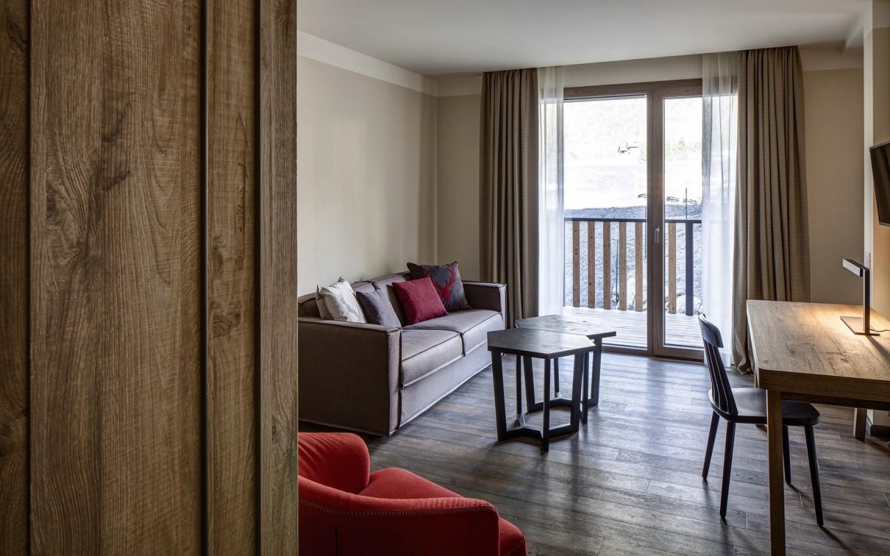 Suite do Grand Hotel Courmayeur Mont Blanc *****