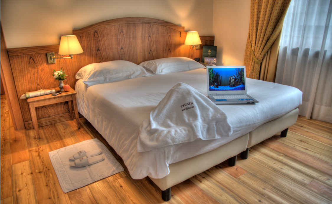 Quarto Comfort do Hotel Cresta e Duc **** - Courmayeur