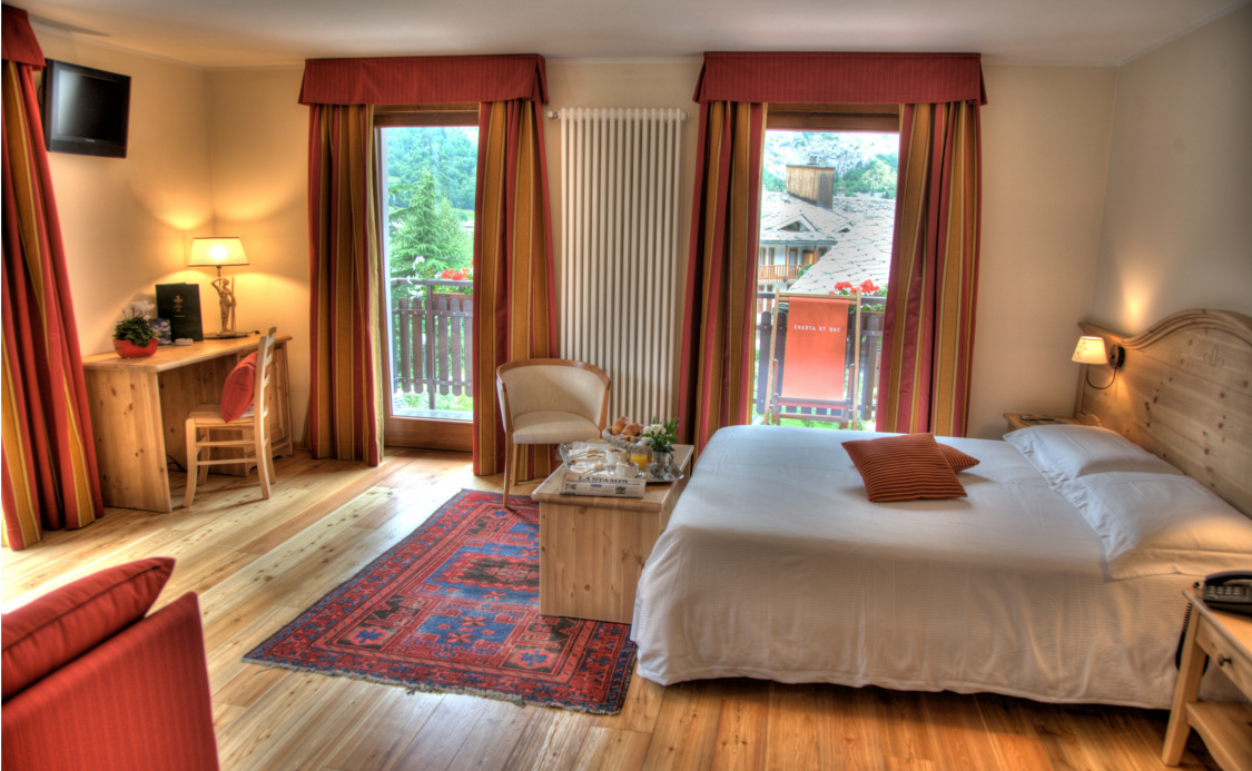 Junior Suite do Hotel Cresta e Duc **** - Courmayeur