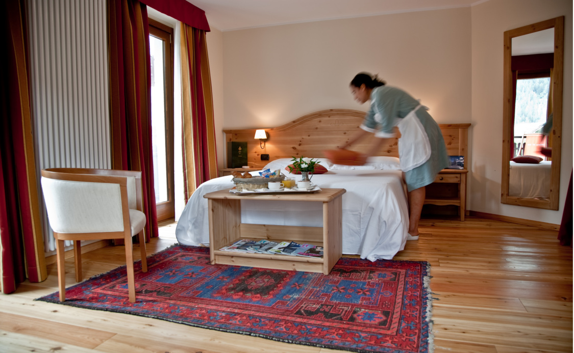 Quarto Family do Hotel Cresta e Duc **** - Courmayeur
