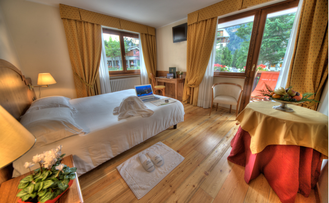 Quarto Superior do Hotel Cresta e Duc **** - Courmayeur