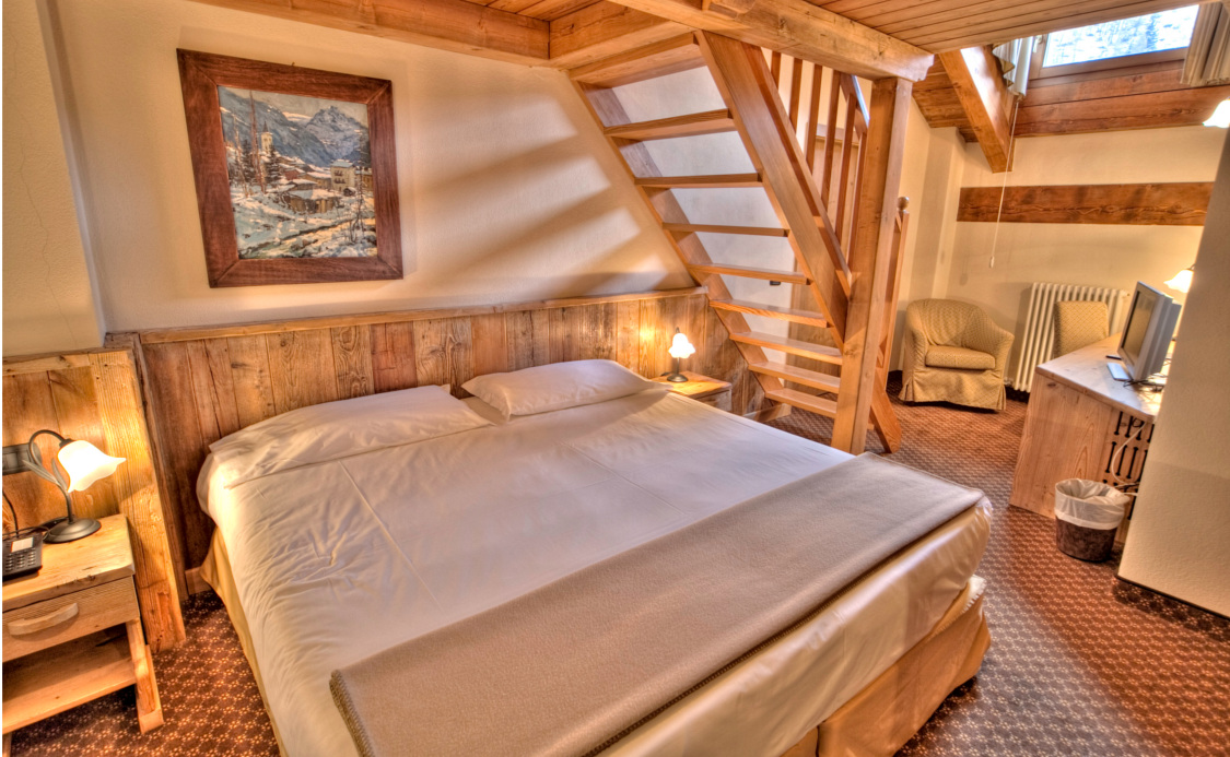 Quarto Duplex do Hotel Le Miramonti ****