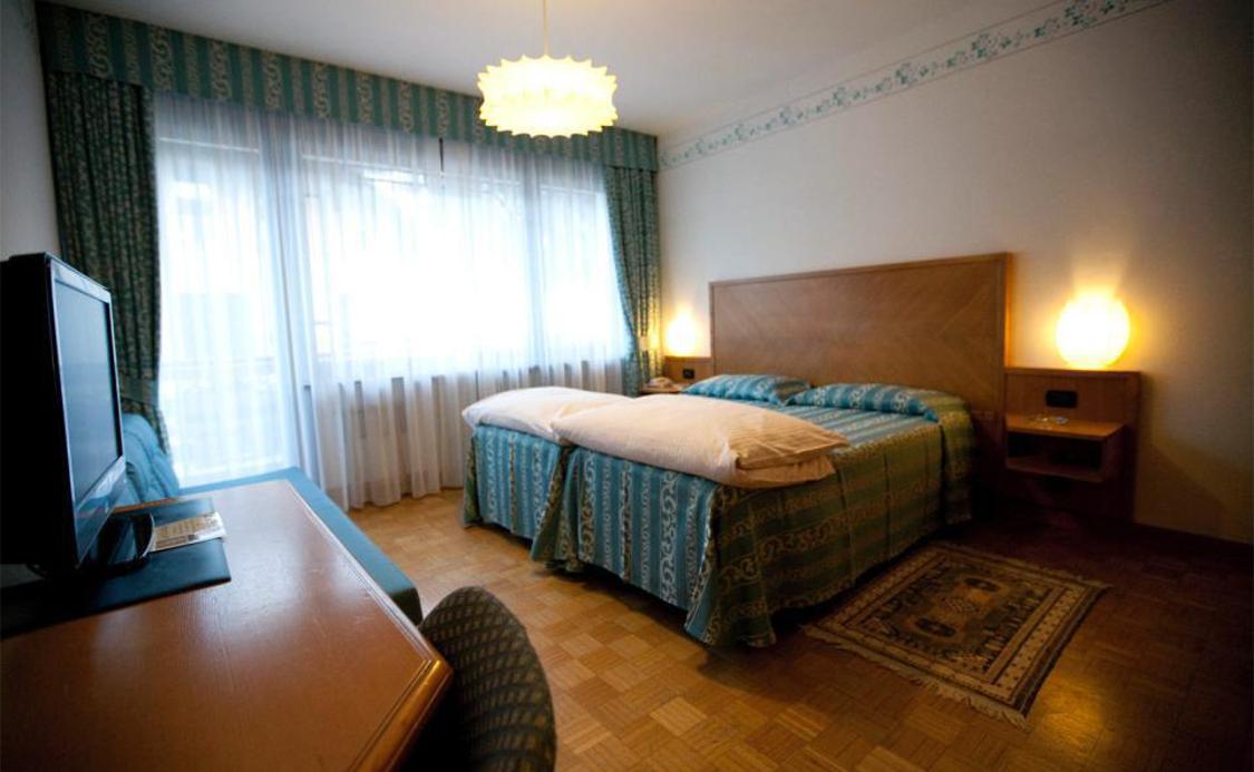 Quarto Duplo do Hotel Milano ***