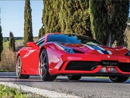 Tour de Ferrari, Um Luxo de Passeio