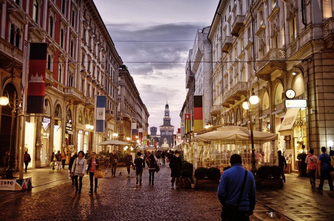 italia mil lugares viagem milao centro cidade